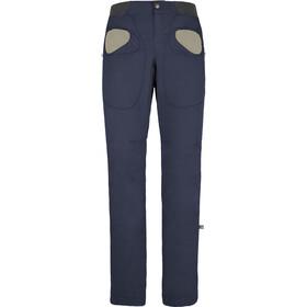 E9 Rondo Story Trousers Men Bluenavy